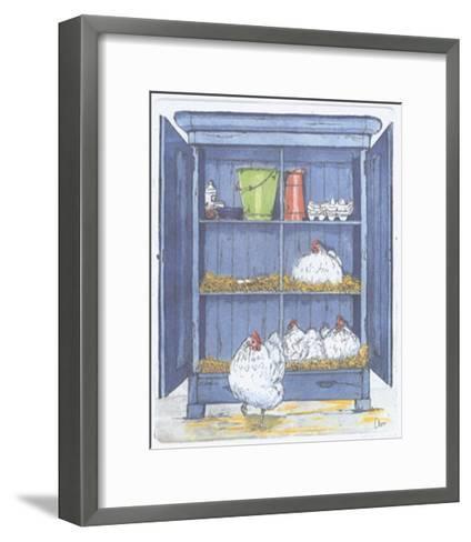 The Egg Factory-Ans Van Der Zweep-Framed Art Print