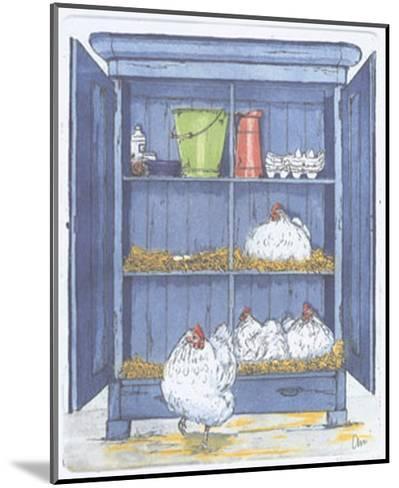 The Egg Factory-Ans Van Der Zweep-Mounted Art Print