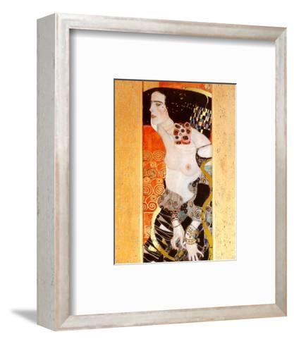 Judith II-Gustav Klimt-Framed Art Print