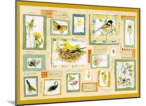 Seasons-Alie Kruse-Kolk-Mounted Art Print