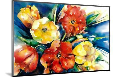 Flower Festival II-Hanneke Floor-Mounted Art Print