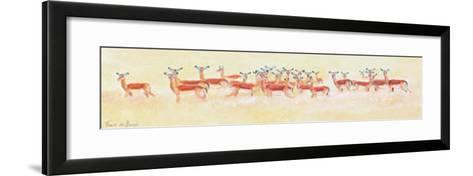 Antelope-Frank De Burgh-Framed Art Print