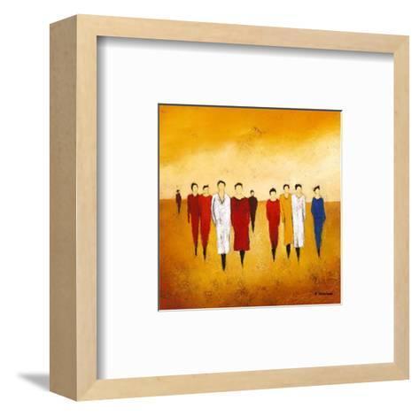 Together I-Anouska Vaskebova-Framed Art Print