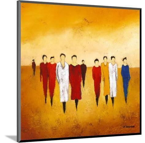 Together I-Anouska Vaskebova-Mounted Art Print