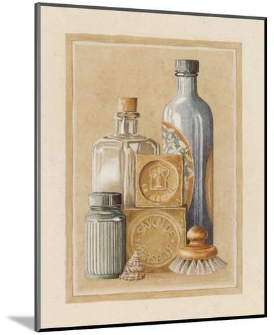 Savon de Marseille-Laurence David-Mounted Art Print