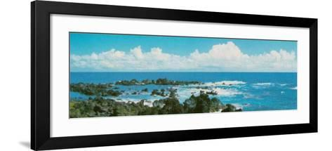 Ocean Vista--Framed Art Print
