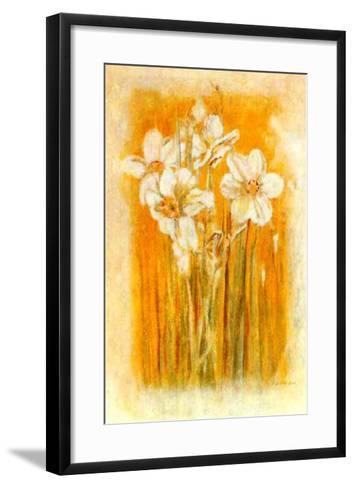 Narcisses II-Laurence David-Framed Art Print