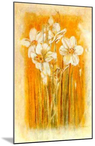 Narcisses II-Laurence David-Mounted Art Print