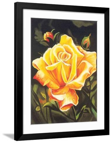 The Golden Flower-N^ Fiore-Framed Art Print