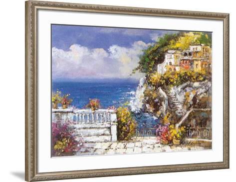 Near Amalfi-E^ Scognamiglio-Framed Art Print