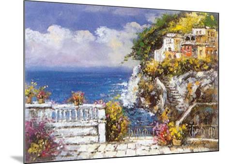 Near Amalfi-E^ Scognamiglio-Mounted Art Print
