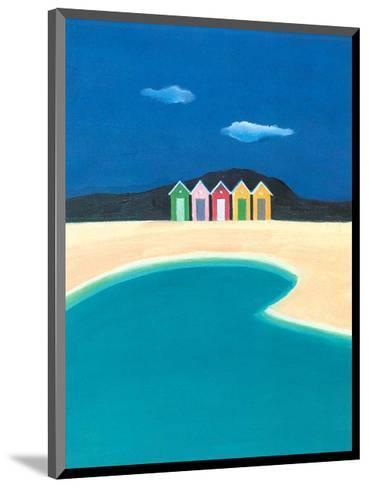 On the Seashore II-A^ Spitz-Mounted Art Print