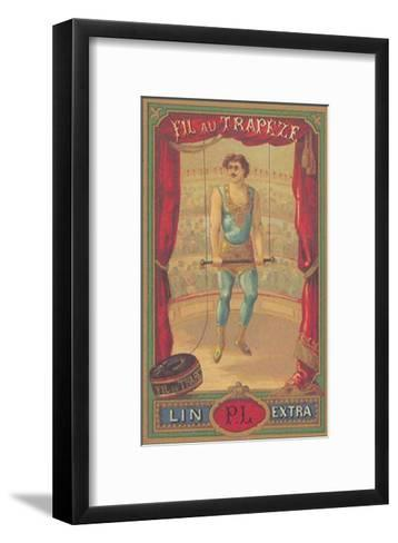 Fil au Trapeze--Framed Art Print