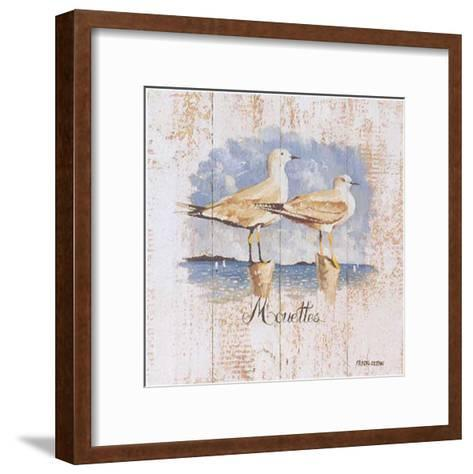 Mouettes-Pascal Cessou-Framed Art Print
