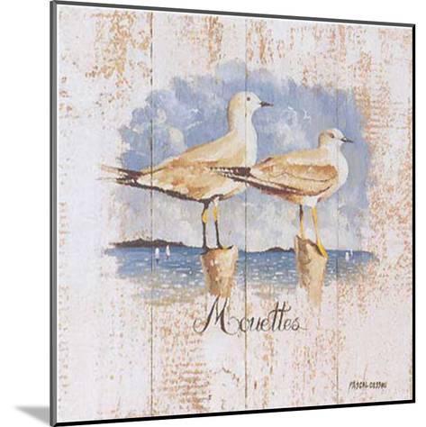 Mouettes-Pascal Cessou-Mounted Art Print
