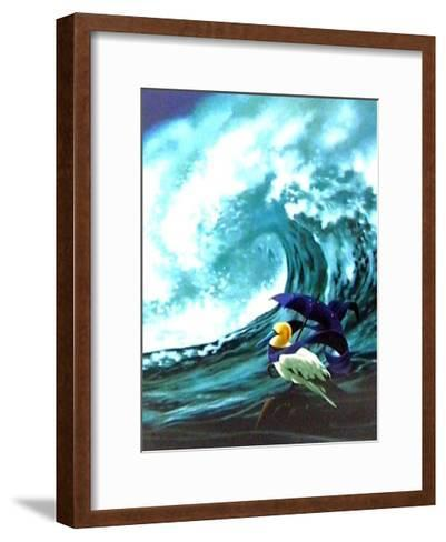 Le Solitaire-Claude Theberge-Framed Art Print