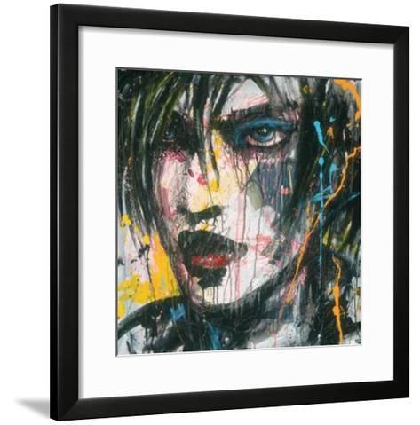 Ennui T.V.-Zilon-Framed Art Print