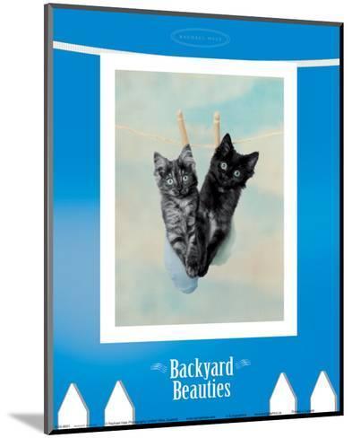 Backyard Beauties-Rachael Hale-Mounted Art Print
