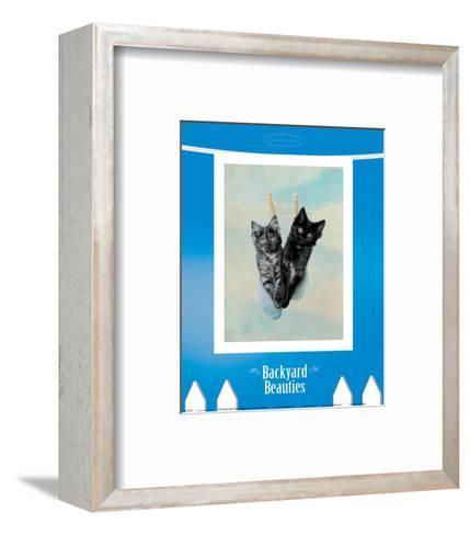 Backyard Beauties-Rachael Hale-Framed Art Print