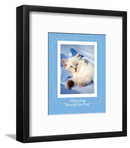 Hard-to-Pet-Rachael Hale-Framed Art Print