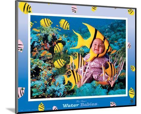 Water Babies, Yellow Fish-Tom Arma-Mounted Art Print