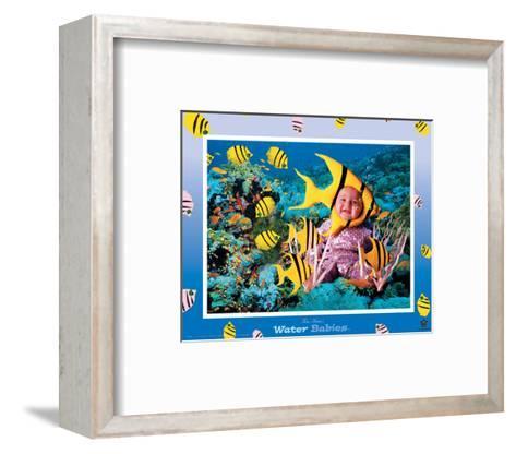 Water Babies, Yellow Fish-Tom Arma-Framed Art Print