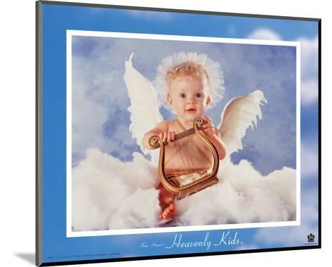 Heavenly Kids, Harp-Tom Arma-Mounted Art Print