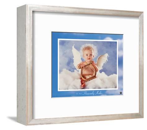 Heavenly Kids, Harp-Tom Arma-Framed Art Print