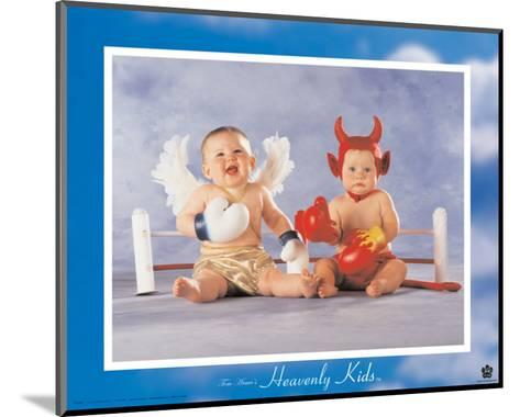 Heavenly Kids, Good Wins-Tom Arma-Mounted Art Print