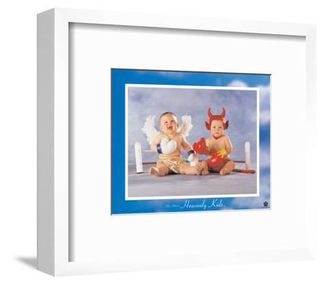 Heavenly Kids, Good Wins-Tom Arma-Framed Art Print