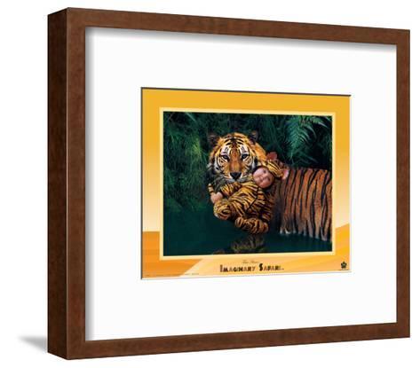 Imaginary Safari, Tiger-Tom Arma-Framed Art Print
