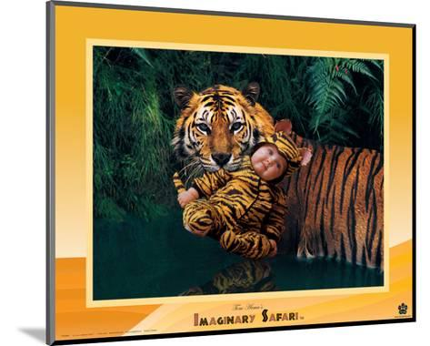 Imaginary Safari, Tiger-Tom Arma-Mounted Art Print