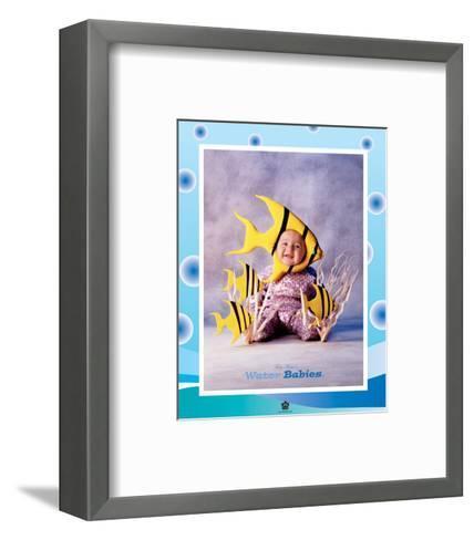 Baby Yellow Fish-Tom Arma-Framed Art Print