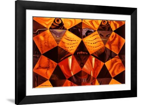 Cinquenta, Tigre Real-Salvador Dal?-Framed Art Print