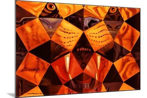 Cinquenta, Tigre Real-Salvador Dal?-Mounted Poster