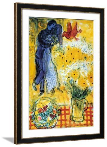 Les Amoureux-Marc Chagall-Framed Art Print