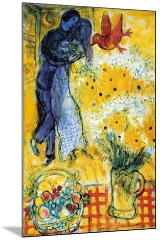 Les Amoureux-Marc Chagall-Mounted Poster