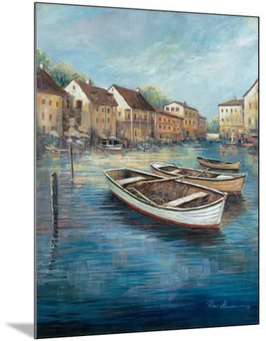 Tranquil Harbor I-Ruane Manning-Mounted Art Print