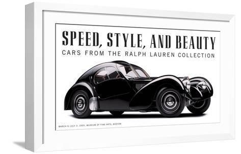 Speed, Style and Beauty-Michael Furman-Framed Art Print