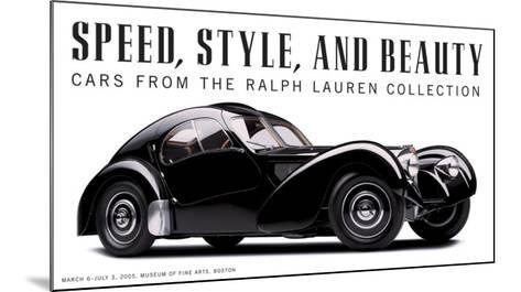 Speed, Style and Beauty-Michael Furman-Mounted Art Print