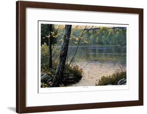 Golden Pond-J. Vanderbrink-Framed Art Print