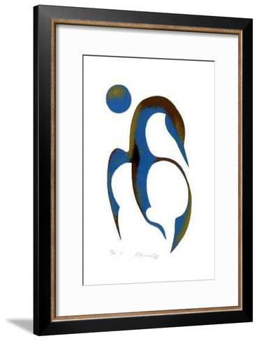 VI- Noganosh-Framed Art Print