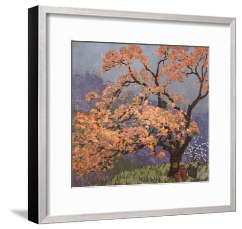 Spring Blossoms-Gustave Baumann-Framed Art Print