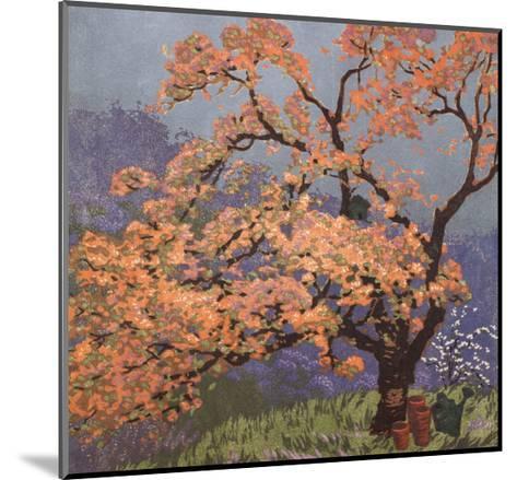 Spring Blossoms-Gustave Baumann-Mounted Art Print