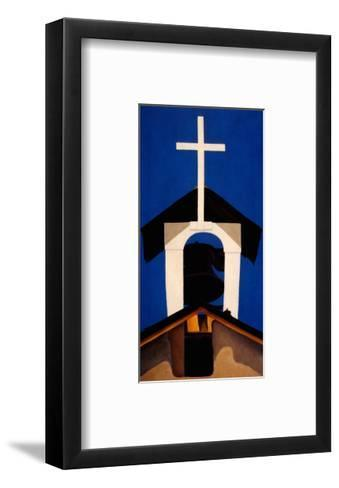 Church Steeple-Georgia O'Keeffe-Framed Art Print