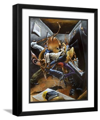 Rent Party-Frank Morrison-Framed Art Print