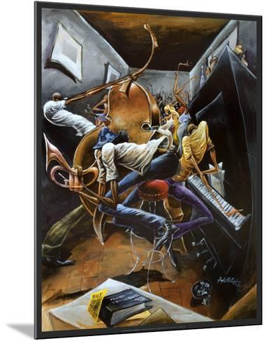 Rent Party-Frank Morrison-Mounted Art Print