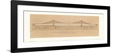 Brooklyn Bridge-Craig Holmes-Framed Art Print
