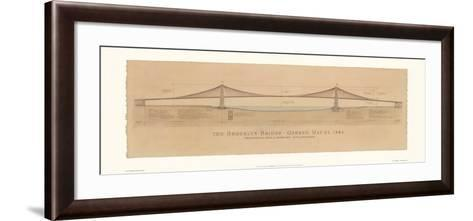 Brooklyn Bridge-Craig Holmes-Framed Art Print