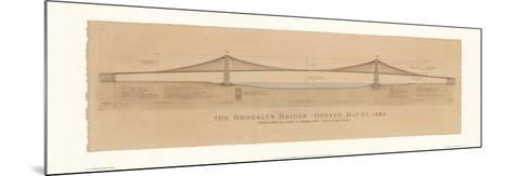 Brooklyn Bridge-Craig Holmes-Mounted Art Print